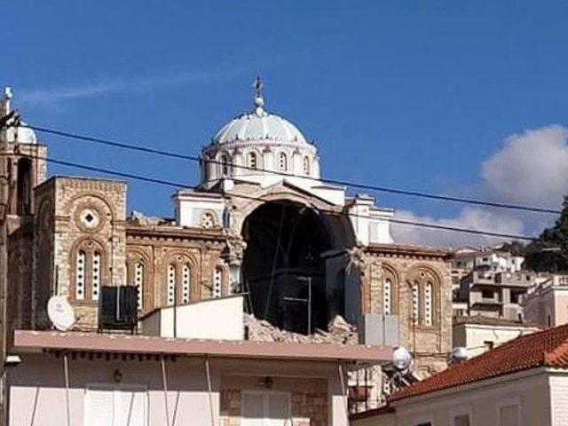 2 dead as Aegean quake destroys church, sends mini tsunami toward Greek Island of Samos (PHOTOS, VIDEOS)