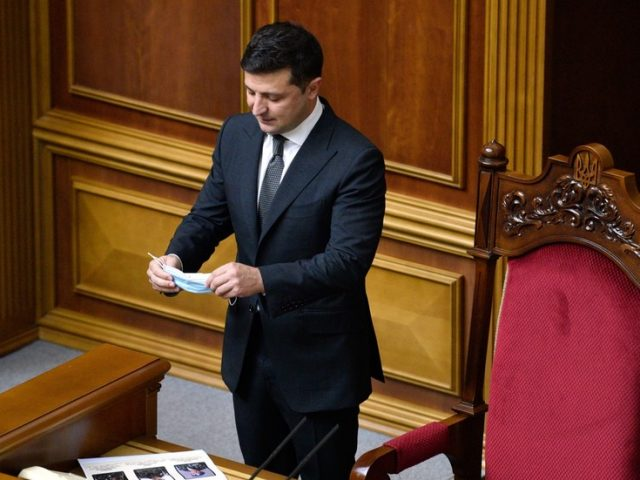 'Conspiracy of old elites and oligarchs': Ukraine's Zelensky accuses Constitutional Court of protecting country's 'untouchables'