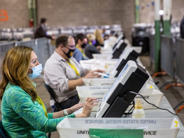 Judge orders HALT to Pennsylvania vote certification until Friday hearing on mail-in ballots