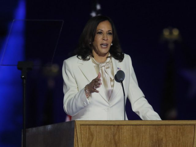 Forget Joe Biden… The big news is Kamala Harris, who is clearly being groomed to take over as president in 2024