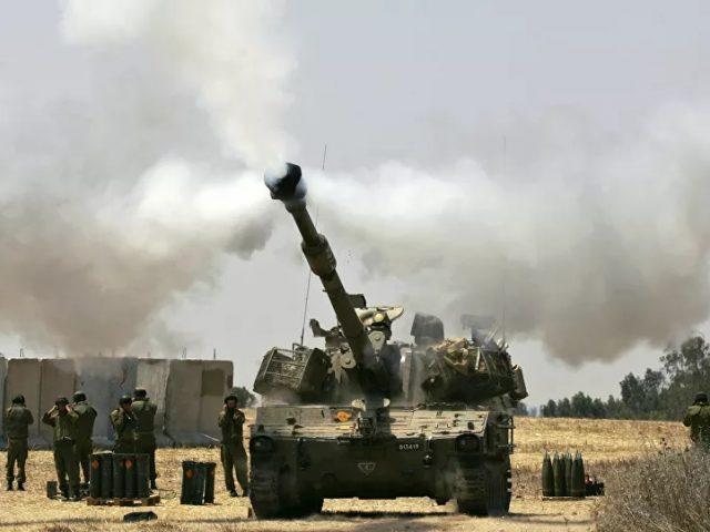 Israeli Army Says Held Drills Near Border With Gaza Strip