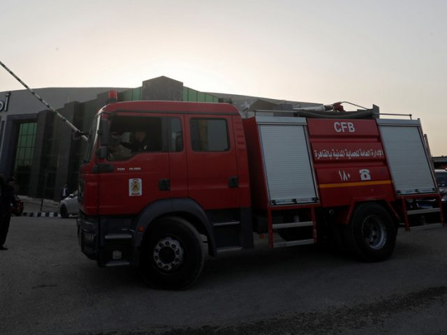 At least 7 killed as fire breaks out at Covid-19 hospital in Egypt