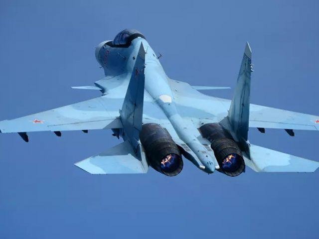 Russia's Su-30 Intercepts US, French Spy Planes Over Black Sea