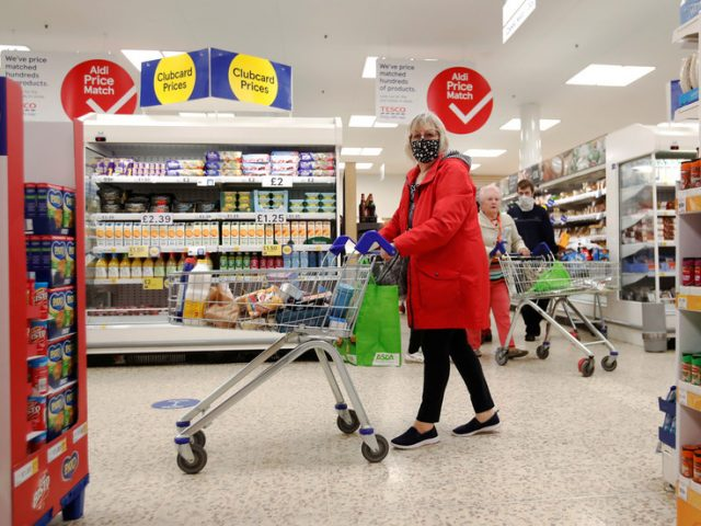 UK retail staff face 'violence and abuse' while enforcing Covid-19 rules amid fears virus spreading in supermarkets