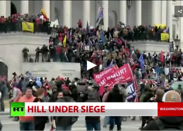 BREAKING: Furious mob storms US Capitol (Full show)