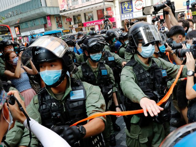 US sanctions six Hong Kong officials over their alleged role in security law arrests