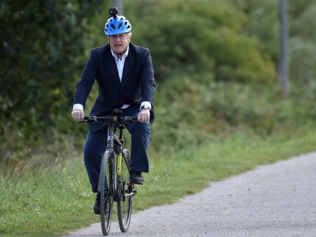 'Do as I say, not as I do': BoJo blasted for hypocrisy as leisurely lockdown-breaching cycle infuriates cooped-up Brits