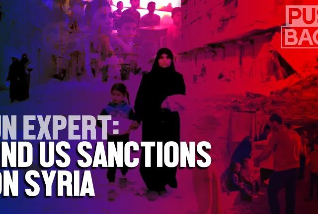 UN expert: crippling US sanctions on Syria are illegal and hurting civilians