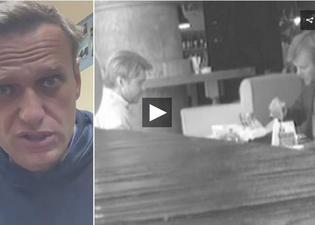 Top Navalny aide asked alleged British spy for millions in funding, intelligence video released by Russia's FSB claims to reveal