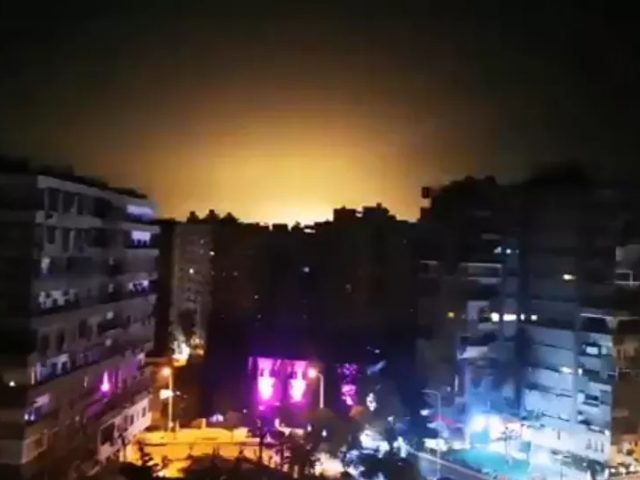 Videos, Photos Show Aftermath of Alleged 'Israeli Aggression' Near Syria's Damascus