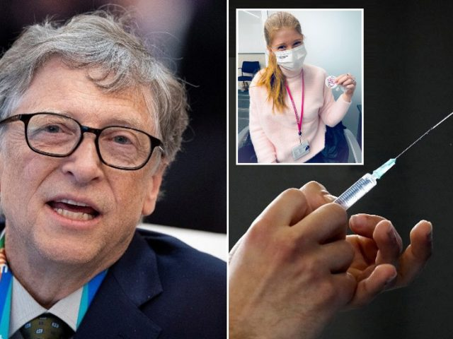'That's what someone microchipped would say,' Twitter jokes after jabbed Bill Gates' daughter mocks Covid-19 vax conspiracy theory