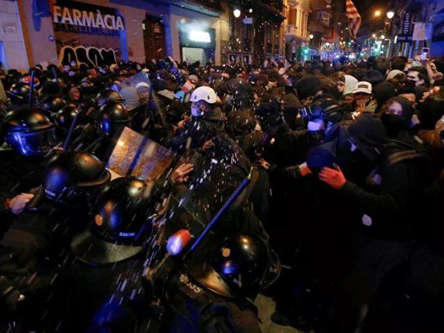 Day 6 of Barcelona Protests Over Arrest of Rapper Hasel