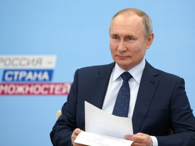 'Only my doctor knows' – Putin refuses to reveal which of three Russian Covid-19 vaccines he received in closed-door appointment
