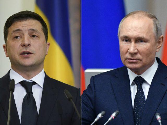 Ukrainian president pitches summit with Putin at Vatican as Kremlin says it's 'wonderful' to hear Kiev talk about peace, not war