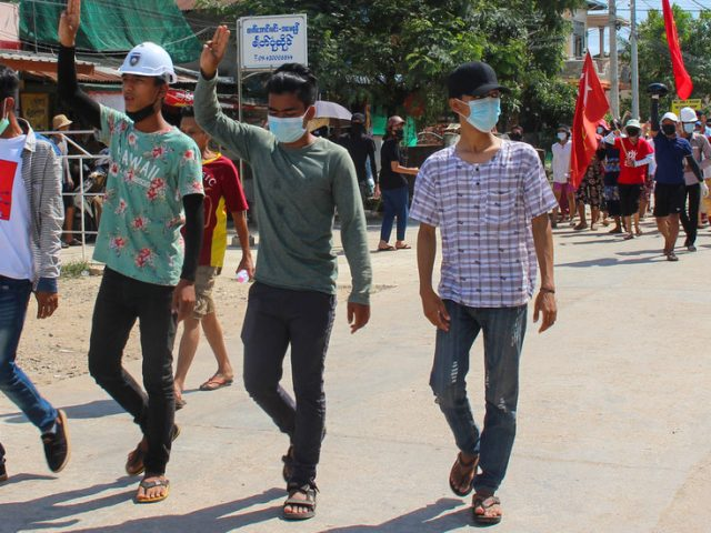 Clashes between Myanmar military and protesters reportedly leaves 11 dead as junta removes ambassador to UK