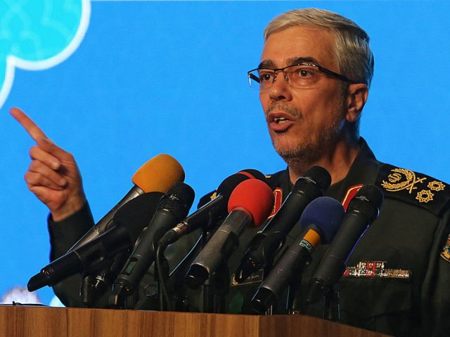 'We don't know who did it, but Israel will be taught a lesson,' Iranian army chief warns after oil tanker attack
