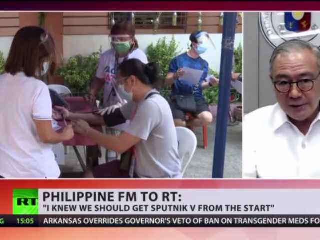 Russian-made Sputnik V coronavirus vaccine passed efficacy & safety tests 'with flying colors,' Philippines foreign minister to RT