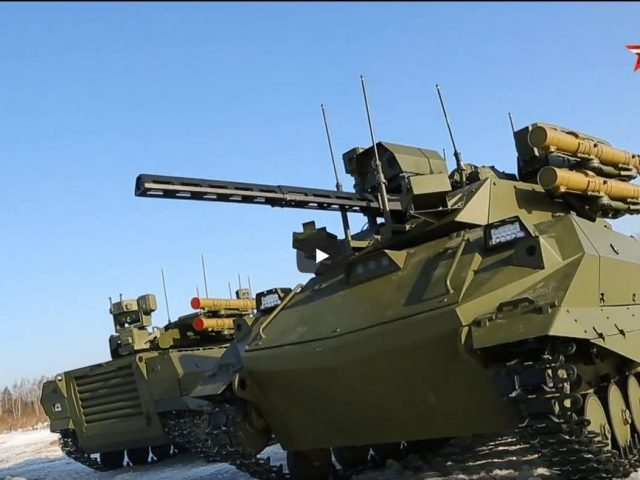 The Uran-9 Russia's First Combat Robot