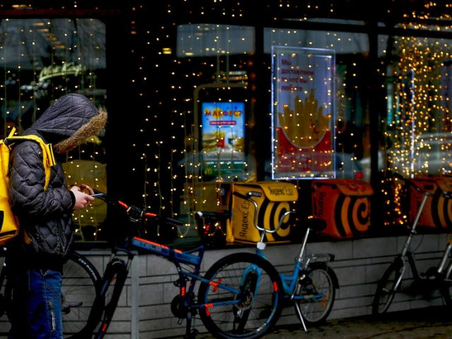 Russian internet giant Yandex mulls expanding food delivery service to TWO European capitals as Covid-19 pandemic boosts demand