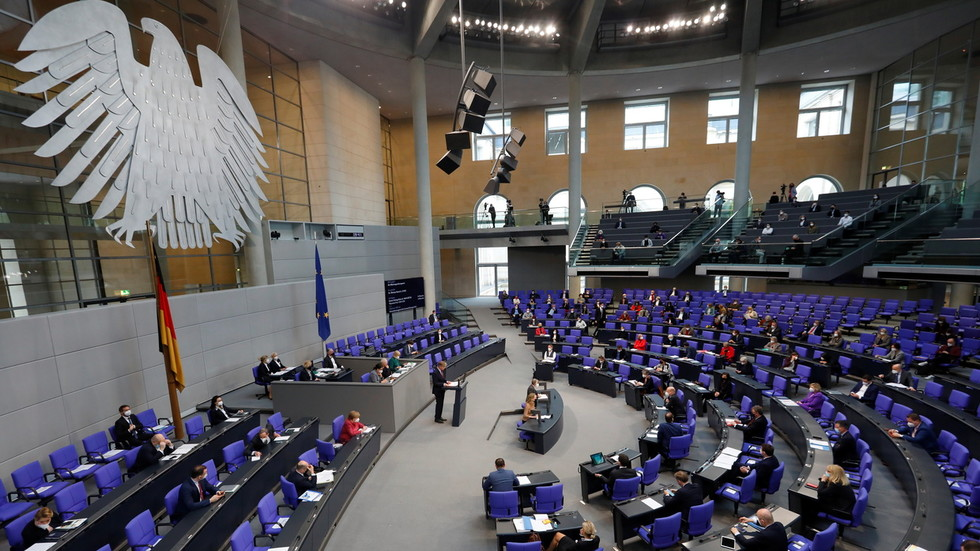 The Bundestag has