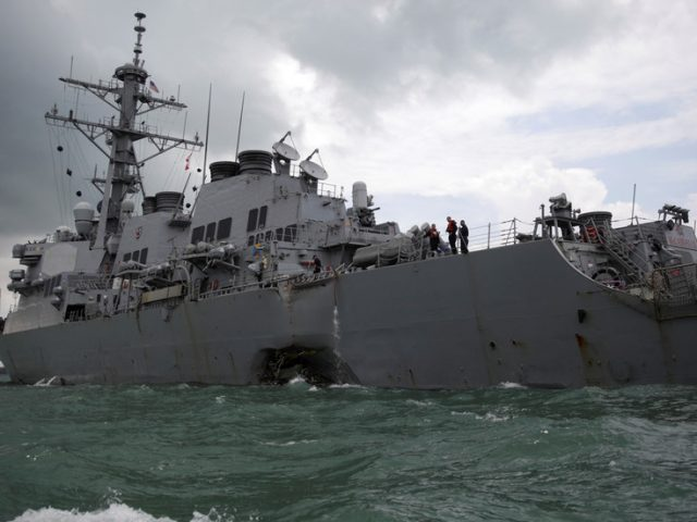 'Do Chinese warships go to the Gulf of Mexico?': Beijing blames Washington's aggression for Taiwan tensions