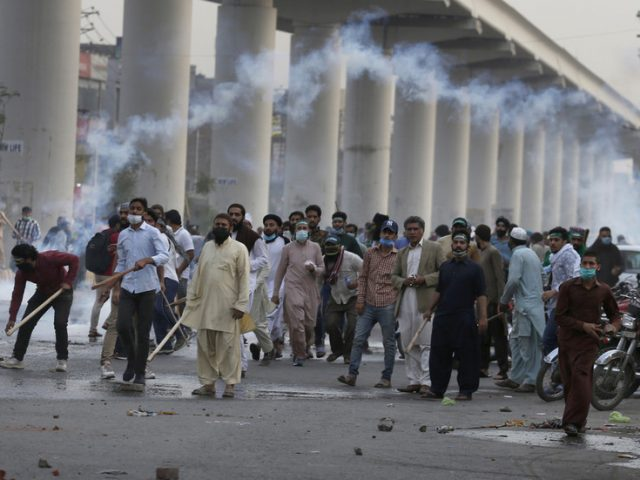 Anti-French Pakistani party outlawed under terrorism law after clashes with police leave two dead