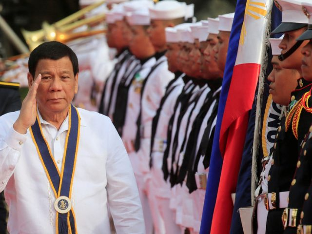 Duterte says he will send Philippines' navy ships into South China Sea to 'stake claim' over oil resources