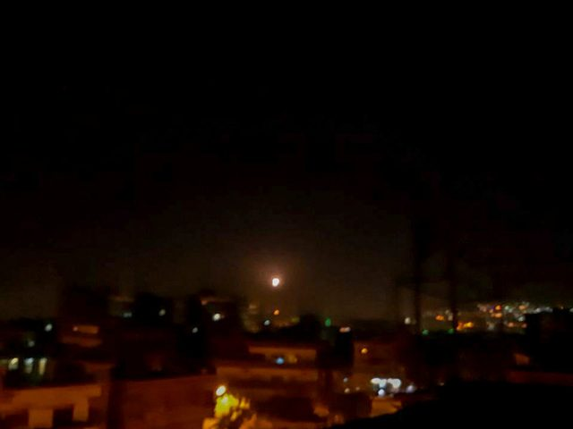 Syrian air defenses repel 'Israeli aggression' as IDF launches attack in response to missile landing near Israeli nuclear reactor