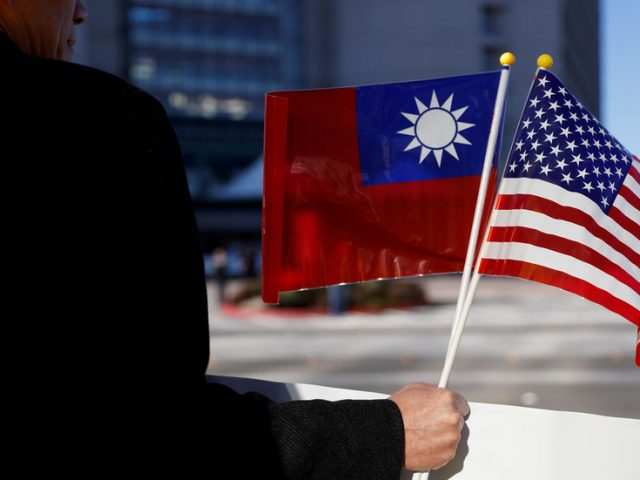Taiwan 'very willing' to work with US to counter China's 'adventurous maneuvers and provocations'