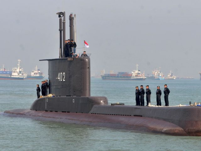 Indonesian submarine that went missing during military drills with 53 on board confirmed sunk – navy