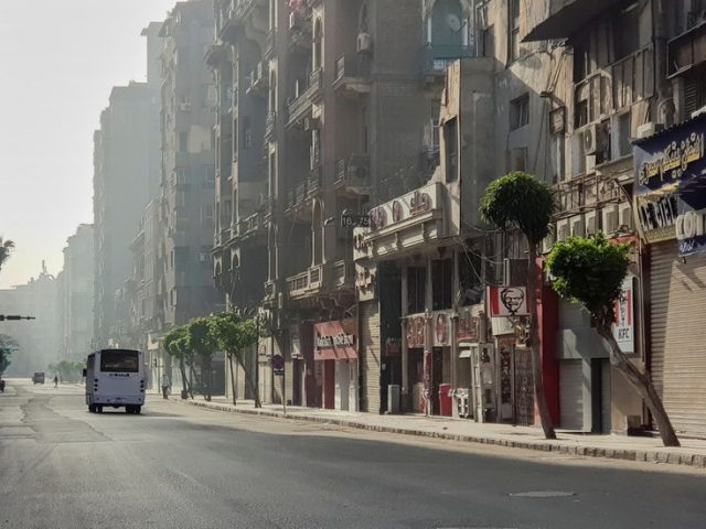 Stores, malls, and restaurants to shut early in Egypt for two weeks, including Eid, as Cairo battles resurgent Covid-19