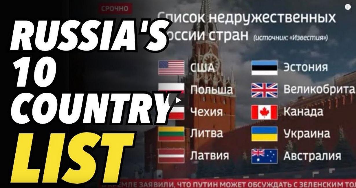 Russia list