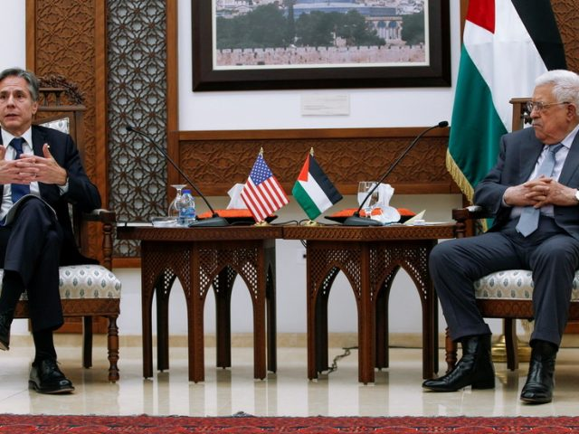 US to reopen Jerusalem consulate, restoring ties with Palestinians, Blinken says during Middle Eastern tour