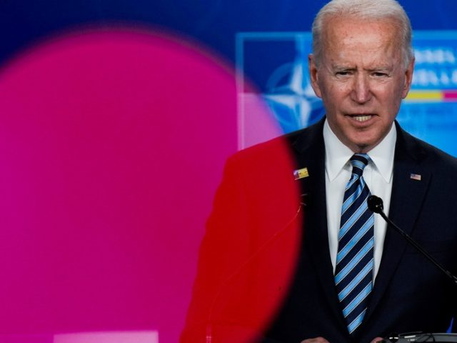 Ukraine gaining access to NATO's waiting room 'remains to be seen' says Biden, after Kiev's Zelensky claimed it was 'confirmed'