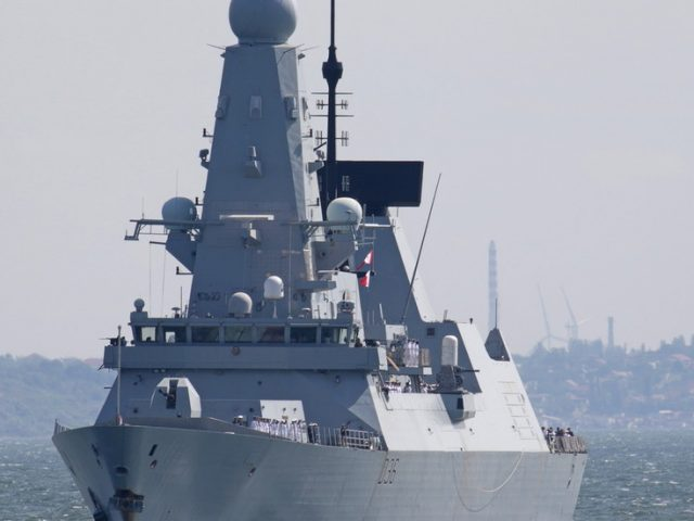 BBC journalist on British ship HMS Defender says vessel made 'deliberate' move in passing through Russian waters 'to make a point'