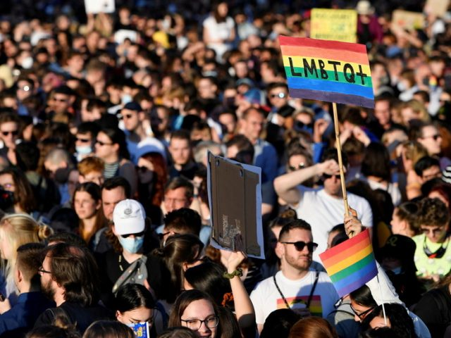 Hungary bans 'promotion' of homosexuality and transgenderism to under-18s amid protests