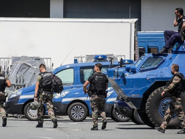 Manhunt for armed ex-soldier in France ends with fugitive 'neutralized,' injured in firefight with police