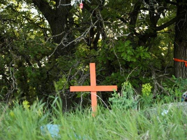 Two MORE Catholic churches in British Columbia go up in flames amid 'anger and rage' over school mass graves