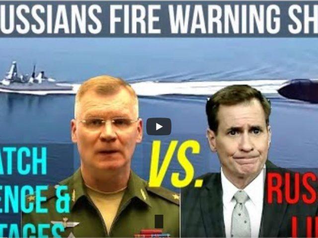 Russian General Exposes Rear Admiral John Kirby & British Fleet Denials: Do Not Tempt Fate in Vain!
