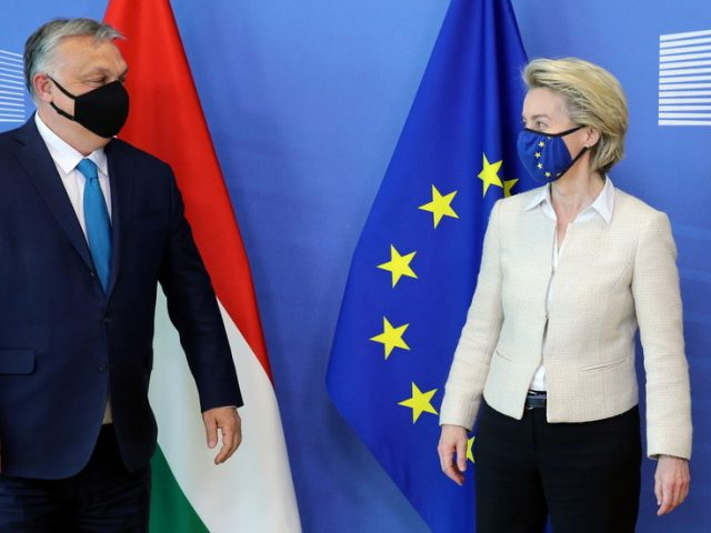 'We will not compromise on values': European Commission chief blasts Hungarian 'LGBT promotion' law, threatens retaliation