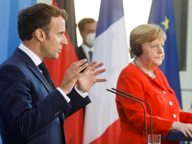 Germany's Merkel & France's Macron to propose revival of collective EU-Russia relations & broad meeting with Putin – media report
