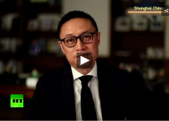 Eric Li: US borrows from China to buy Chinese goods!