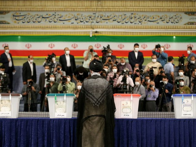 Iran holds presidential election, supreme leader Khamenei encourages people to vote