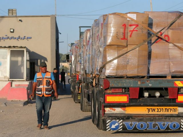 Israel allows limited resumption of exports from Gaza one month into ceasefire