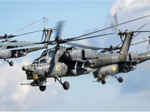 Everything known about the latest Mi-28NM battle helicopter modification