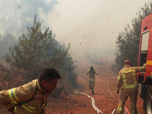 Wildfires rage near Jerusalem, prompting evacuations & suspicions of arson (VIDEOS)
