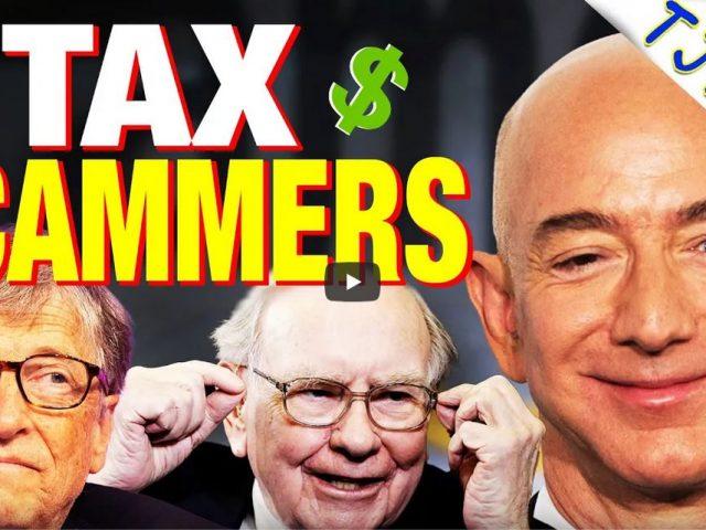 REVEALED: Billionaires Pay No Taxes!