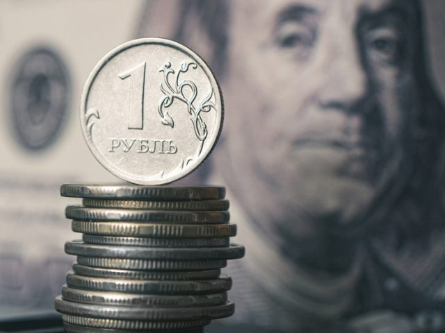 Ruble strengthens to 11-month high as Russia squeezes out US dollar from its economy