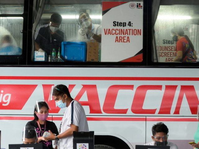 Philippines to exempt fully vaccinated elderly from some coronavirus restrictions to encourage Covid-19 inoculation