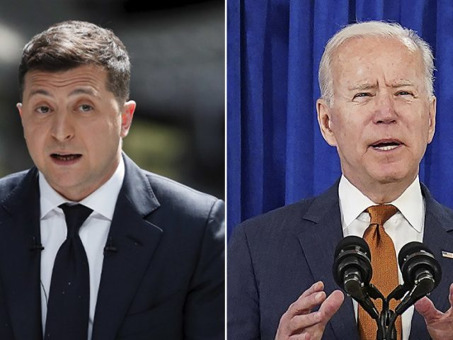 Zelensky accuses America of paying for NS2 pipeline with Ukrainian lives & blasts Biden for not meeting him before Putin summit